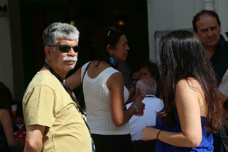 انتشال التميمي مدير مهرجان الجونة السينمائي المصري كان حاضرا حفل توزيع جوائز النقاد للأفلام العربية. 10 يوليو/تموز 2021 من مدينة كان الفرنسية.