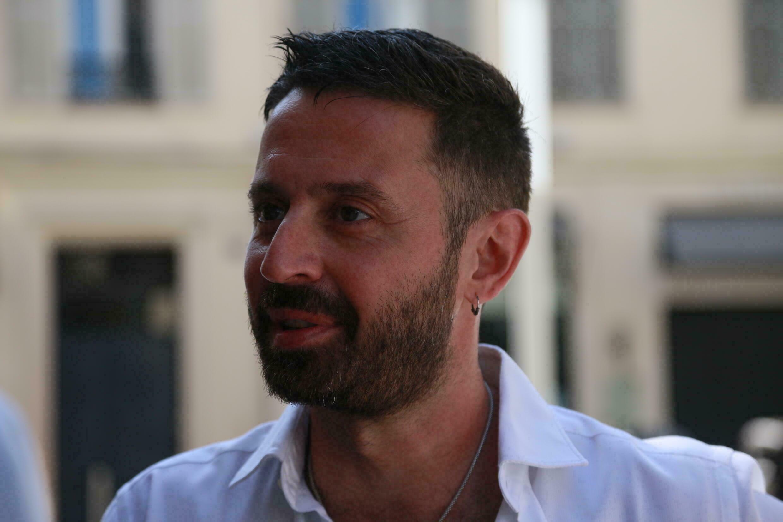 ماهر دياب المؤسس المشارك لمركز السينما العربية ومدير الجوائز. 10 يوليو/تموز 2021 من مدينة كان الفرنسية